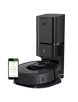 I Robot Roomba I7+ Wi Fi Connected Robot Vacuum With Automatic Dirt Disposal   7550 by I Robot