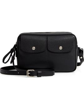 Le Foulonné Leather Camera Bag by Longchamp
