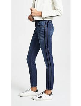 The Ankle Skinny With Tux Stripes by 7 For All Mankind