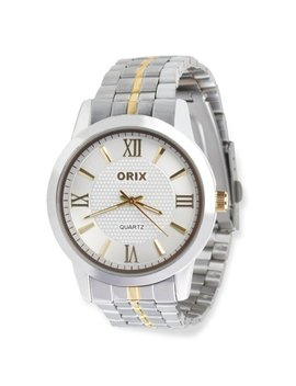 Watches For Men By Orix Luxury Stainless Steel Hand Wrist Watch For Guys by Orix
