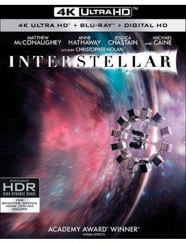 Ay] [3 Discs] [2014] by Interstellar [4 K Ultra Hd Bl