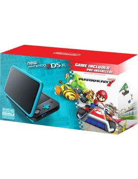 New 2 Ds Xl Mario Kart 7 Bundle   Black + Turquoise by Nintendo