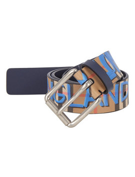 Check Graffiti Belt by Burberry