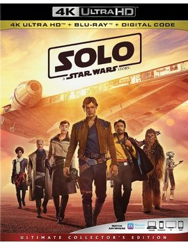 Ay/Blu Ray] [2018] by Solo: A Star Wars Story [Includes Digital Copy] [4 K Ultra Hd Bl