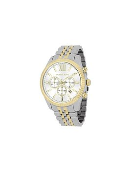 Michael Kors Men's Lexington Two Tone Stainless Steel Watch Mk8344 by Michael Kors