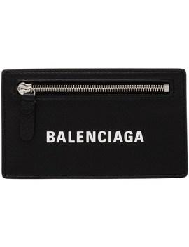 Baltimore Logo Essential Long Card Holder by Balenciaga