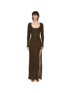 Brown 'la Robe Dao' Dress by Jacquemus