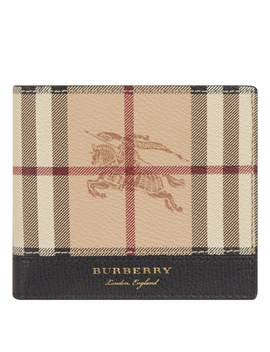 Check Wallet by Burberry