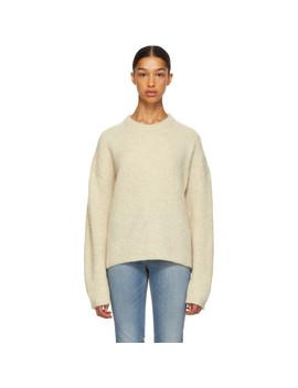 White Biella Sweater by TotÊme