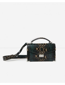 Medium Size Green Python Emily Bag Medium Size Green Python Emily Bag by The Kooples