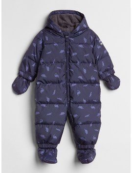 Cold Control Max Down Print Snowsuit by Gap