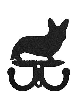 Welsh Corgi Cardigan Metal 2 Hook Key Chain Holder Hanger by Swen Products