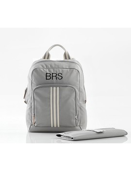 Gray Classic Diaper Bag Backpack by Pottery Barn Kids