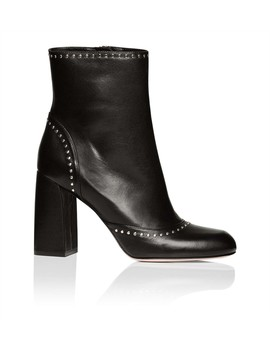 Bootie Suede With Studs by Red Valentino