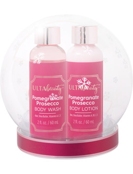 Online Only Snow Globe Bath Gift Set Pomegranate Prosecco by Ulta