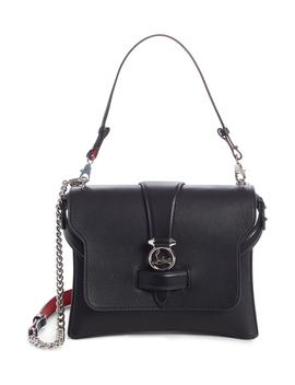 Medium Rubylou Calfskin Leather Bag by Christian Louboutin