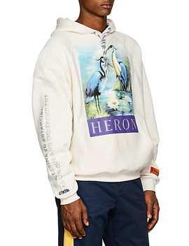 Heron Cotton Fleece Hoodie by Heron Preston
