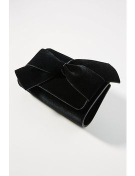 Belle Velvet Envelope Clutch by Anthropologie