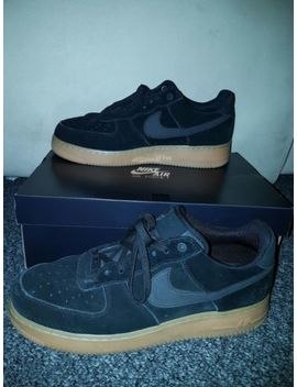 Mens Suede Nike Air Force 1 '07 Trainers Size 11 by Ebay Seller