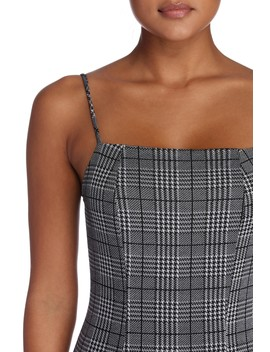 In Love With Plaid Midi Dress by Windsor