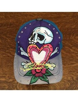 "Nice Woman's Ed Hardy ""Love Kills"" Trucker Style Hat/Cap Size Small by Ebay Seller"