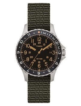 Timex® Navi Ocean Reversible Nato Strap Watch, 38mm by Timex® Archive