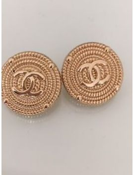 Chanel Buttons Set Of 2 20 Mm by Ebay Seller