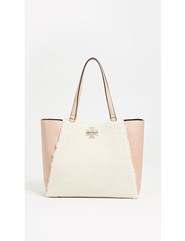 Mc Graw Shearling Carryall by Tory Burch