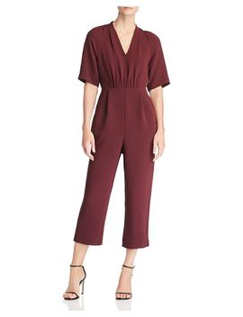 Devyn Crepe Jumpsuit   100 Percents Exclusive by Whistles