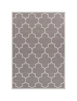 Charlton Home Zachery Weather Proof Gray Indoor/Outdoor Area Rug by Charlton Home