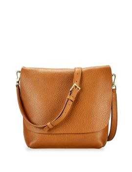 Andi Leather Crossbody Bag by Gigi New York