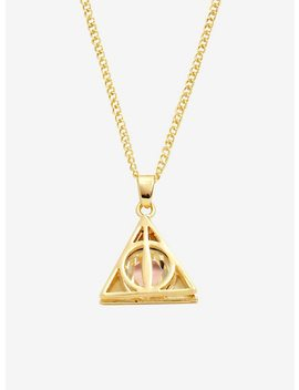 Harry Potter Deathly Hallows Bling Necklace by Hot Topic