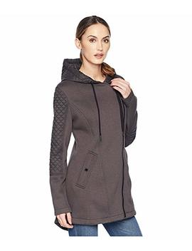 Zip Front/Zip Back Hooded Knit Coat A320673 Gz by Michael Michael Kors