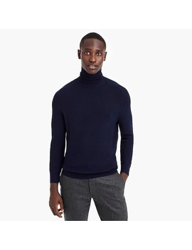 Destination Merino Wool Saddle Sleeve Turtleneck Sweater by J.Crew