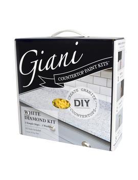 White Diamond Countertop Paint Kit by Giani Granite