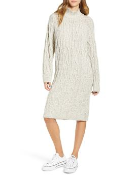Cable Knit Sweater Dress by Bp.