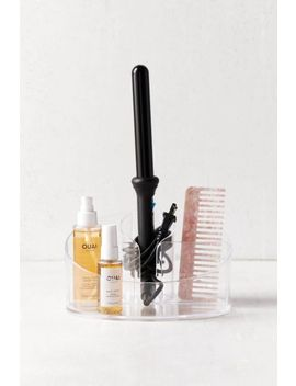 Acrylic Countertop Hair Styling Organizer Tray by Urban Outfitters