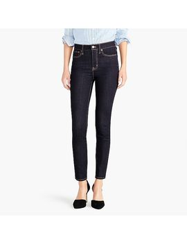 "9"" High Rise Skinny Jean In Rinse Wash by J.Crew"