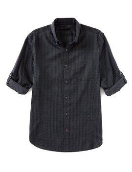 Star Usa Roll Sleeve Long Sleeve Woven Shirt by John Varvatos