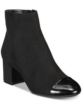 I.N.C. Women's Niva Ankle Booties, Created For Macy's by Inc International Concepts