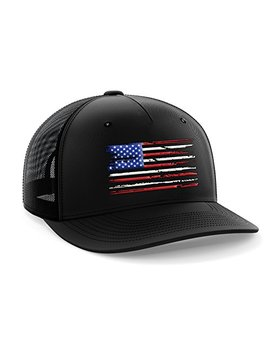 Tactical Pro Supply Usa American Flag Snapback Hat by Tactical Pro Supply