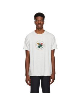 Grey Graphic T Shirt by AimÉ Leon Dore