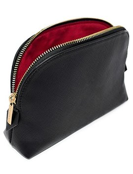 Montrose Cosmetic Makeup Bag For Women's Accessories & Toiletries, Black by Montrose