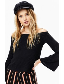Billabong Fly Far Off The Shoulder Top by Pacsun