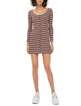 Stripe Minidress by Topshop