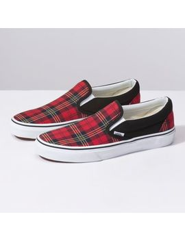 Tartan Slip On by Vans