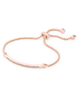 Ott Adjustable Chain Bracelet In Rose Gold by Kendra Scott