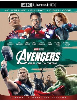 Ay/Blu Ray] [2015] by Avengers: Age Of Ultron [4 K Ultra Hd Bl