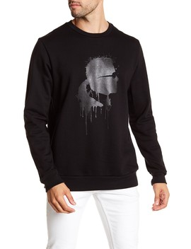 Graphic Print Pullover by Karl Lagerfeld Paris
