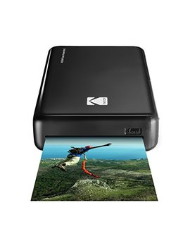 Kodak Mini 2 Hd Wireless Portable Mobile Instant Photo Printer, Print Social Media Photos, Premium Quality Full Color Prints – Compatible W/I Os & Android Devices (Black) by Kodak